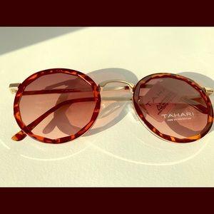 Tortoiseshell tahari sunglasses